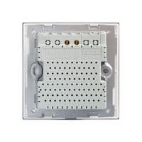 RetroTouch Touch & Remote On/Off Light Switch 2 Gang 1 Way White Glass PG 00361